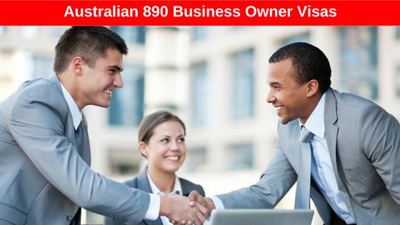 Australian Business Owner Visa (Subclass 890).