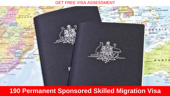 Skilled Nominated Visa (Subclass 190) for Australia