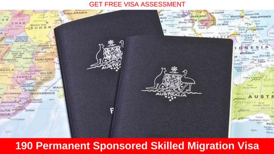 Skilled Migration Visa australia 190