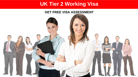 Tier 2 Working Visa UK