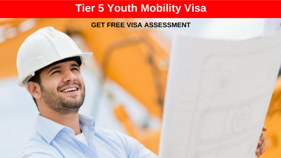 UK Tier 5 Youth Mobility Visa