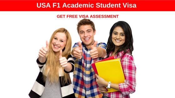 USA Visa F1 Academic Student Visa