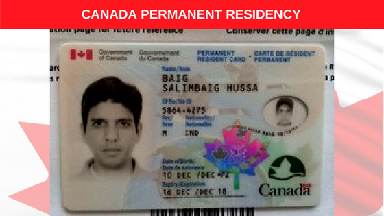 canada permanent residency card 4