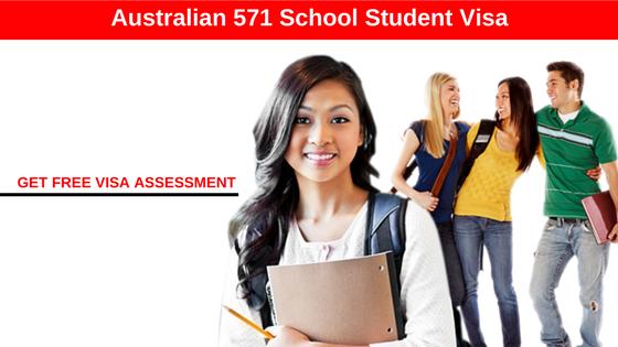 Australian Visa for Student (Subclass 571).